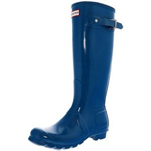 Hunter Original Tall Adjustable Glossy Rain Boots